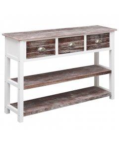 Sideboard Antique Brown 115x30x76 Cm Wood