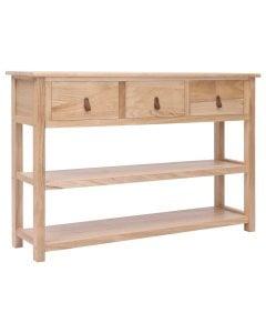 Sideboard Natural 115x30x76 Cm Wood