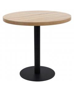 Bistro Table Light Brown 80 Cm