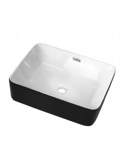 Ceramic Bathroom Basin Sink Vanity Counter Basins Bowl Black White