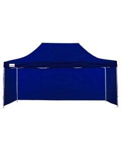 Gazebo Tent Marquee 3x4.5m PopUp Outdoor Wallaroo Blue