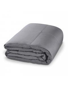 Laura Hill Weighted Blanket Heavy Kids Quilt Doona 7Kg - Grey